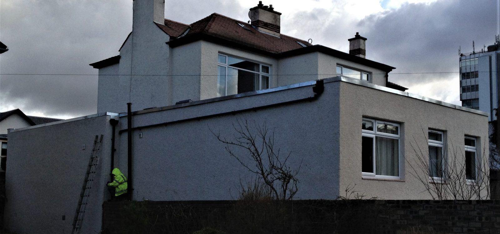external-render-Edinburgh-plastering-contractors-Edinburgh