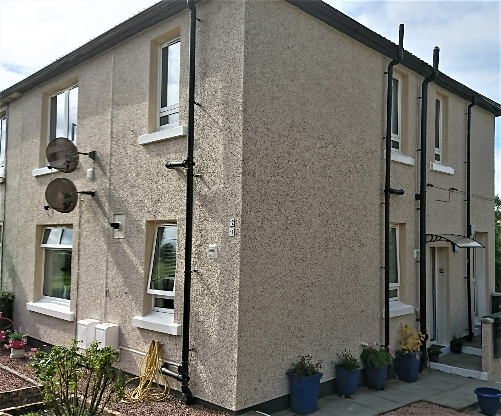 roughcast-render-Edinburgh-pepple-dash-Edinburgh