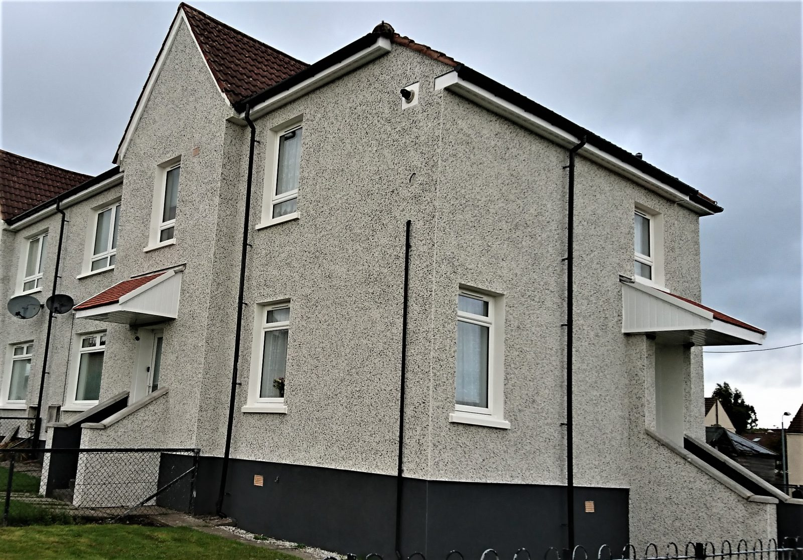 dry-dash-Edinburgh-roughcast-render-repair-Edinburgh
