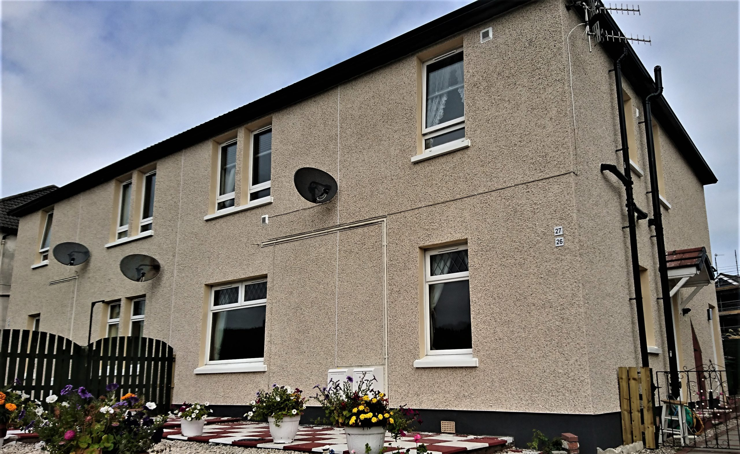 dry-dash-render-Edinburgh-roughcast-repair-Edinburgh